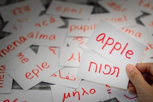תרגום מלים מעברית לאנגלית